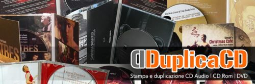 Thanks to the long direct experience gained in the music sector, Novaera now offers a valuable printing and duplication service of CD and DVD. DuplicaCD assists customers with the control of the masters, the realization of the graphics, the completion of the SIAE procedure, the packaging of the products and the transport directly on site. duplicacd.it
