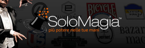 Solomagia is a reality that in a few years has established itself in Europe becoming one of the main points of reference for the distribution and sale of magic products. The vast catalog and a warehouse with over 10,000 items ready for delivery meet the needs of beginners, amateurs and professionals. solomagia.it